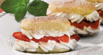 Strawberry Ricotta Shortcake - Galbani Cheese