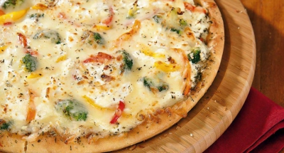 Veggie Ricotta Pizza - Galbani Cheese