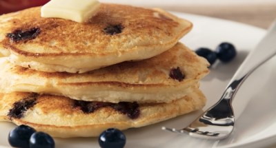 Ricotta Blueberry Pancakes - Galbani Cheese