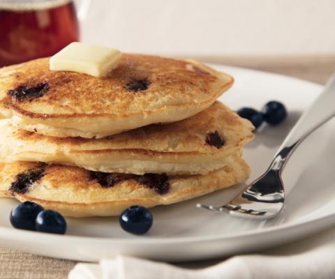 Ricotta Blueberry Pancakes - Galbani Cheese