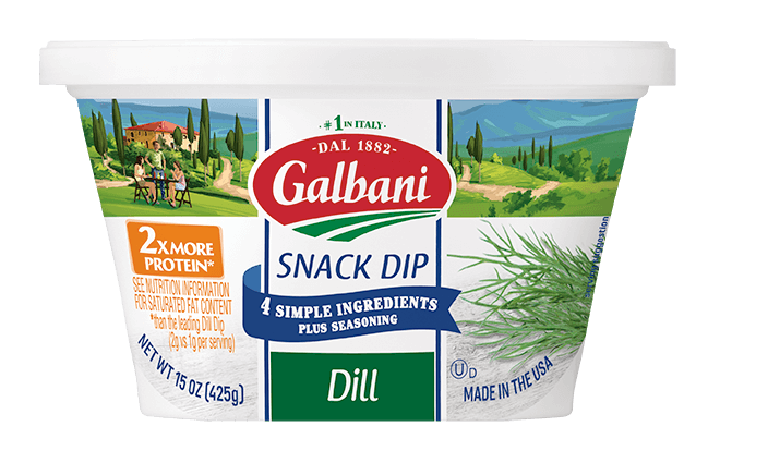 Dill Snack Dip - Galbani Cheese