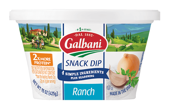 Ranch Snack Dip - Galbani Cheese