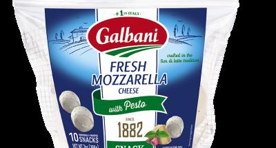Fresh Mozzarella Pesto Snacks - Galbani Cheese