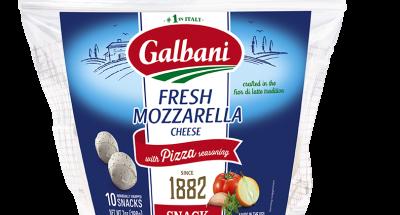 Fresh Mozzarella Pizza Seasoning Snacks - Galbani Cheese