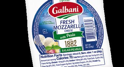 Fresh Mozzarella Pesto Salad Pearls - Galbani Cheese