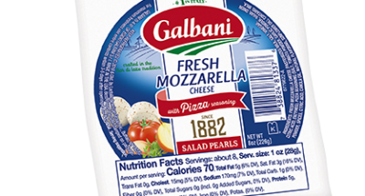 Fresh Mozzarella Pizza Seasoning Salad Pearls - Galbani Cheese
