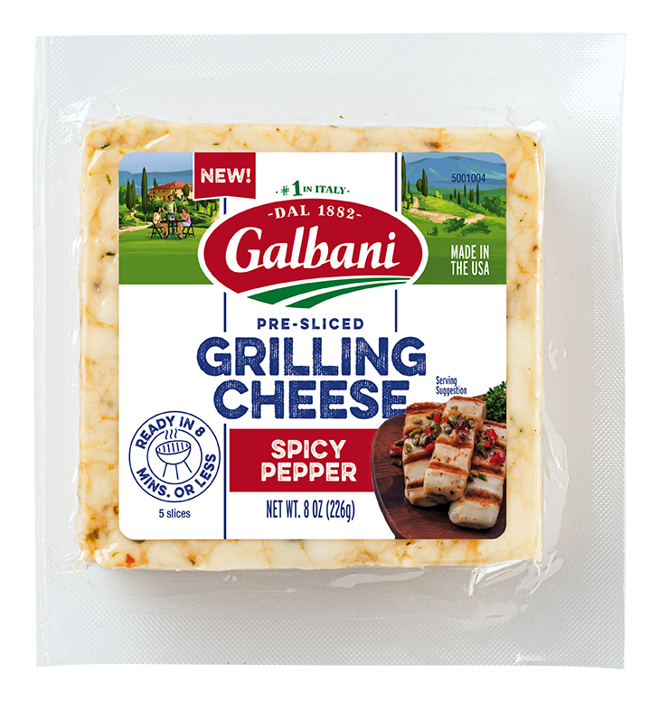 Spicy Pepper Grilling Cheese - Galbani Cheese