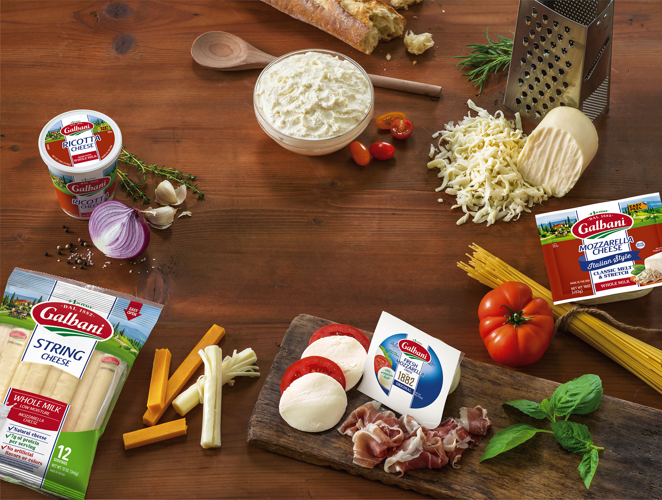 Our Authentic Cheeses - Galbani