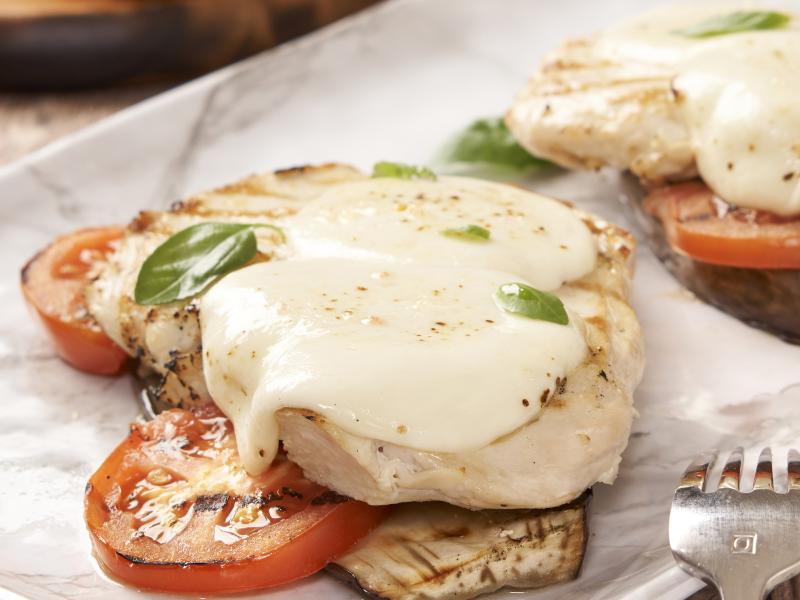 Chicken Eggplant Caprese - Galbani Cheese