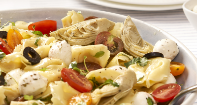 Tortellini Salad with Marinated Fresh Mozzarella - Galbani Cheese