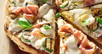 Grilled Summer Pizza - Galbani Cheese