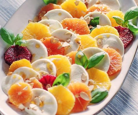 Citrus Caprese - Galbani Cheese