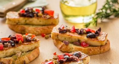 Olive Tapenade Crostini - Galbani Cheese