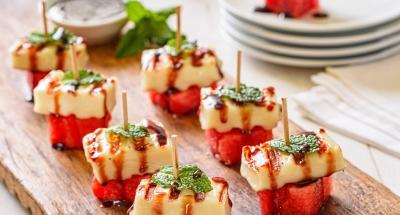Watermelon Skewers - Galbani Cheese