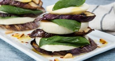 Eggplant Napoleon - Galbani Cheese